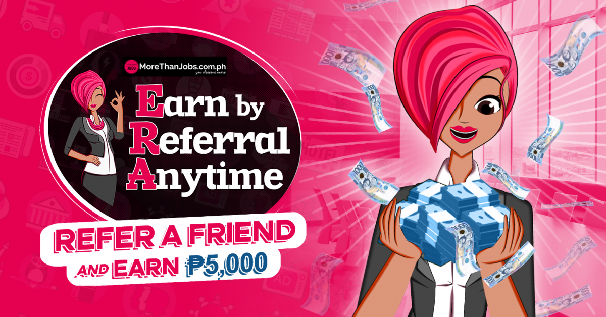 EARN by REFERRAL Anytime PROGRAM Mechanics