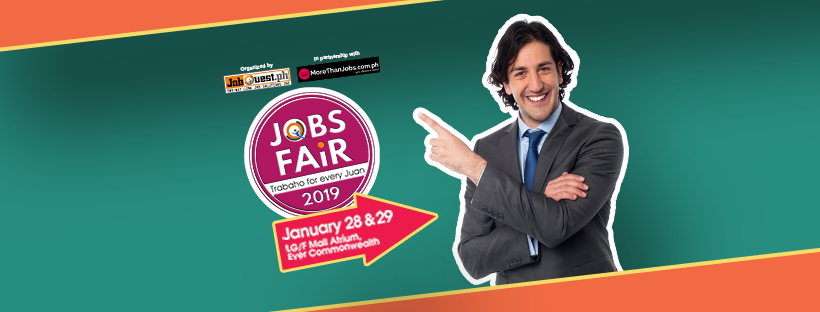 Ever Gotesco Commonwealth Jobfair – January 28-29, 2019 (JobQuest)