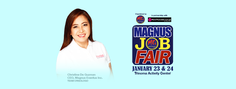 Trinoma Jobfair – January 23-24, 2019 (Magnus Job Fair)