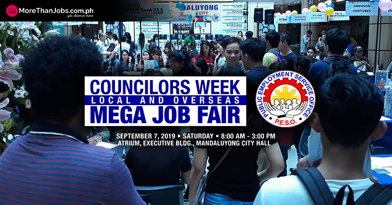 Local and Overseas Mega Job Fair Kicks Off Councilors Week 2019