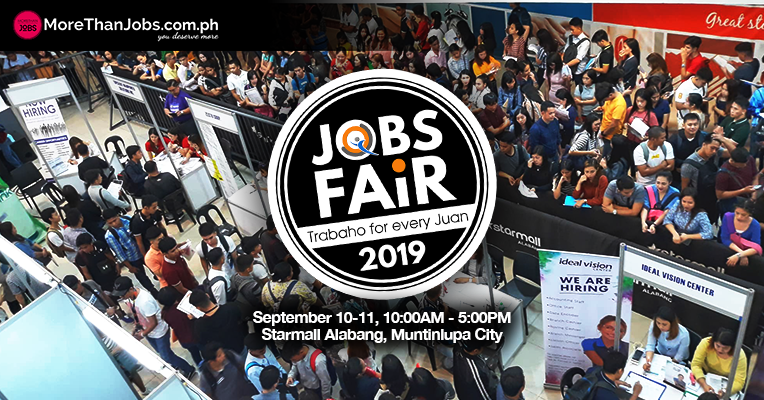 JobQuest and MoreThanJobs.com.ph Bring Jobs Fair Back to Alabang