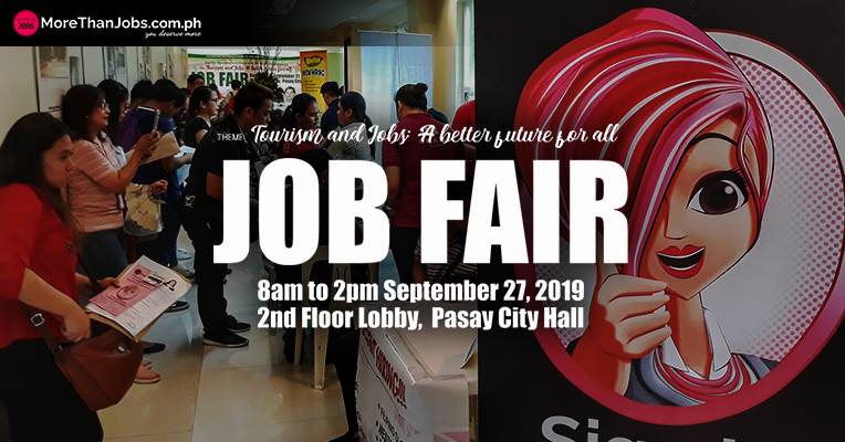 Over 50 Job Seekers Find New Jobs Thru Pasay City Job Fair