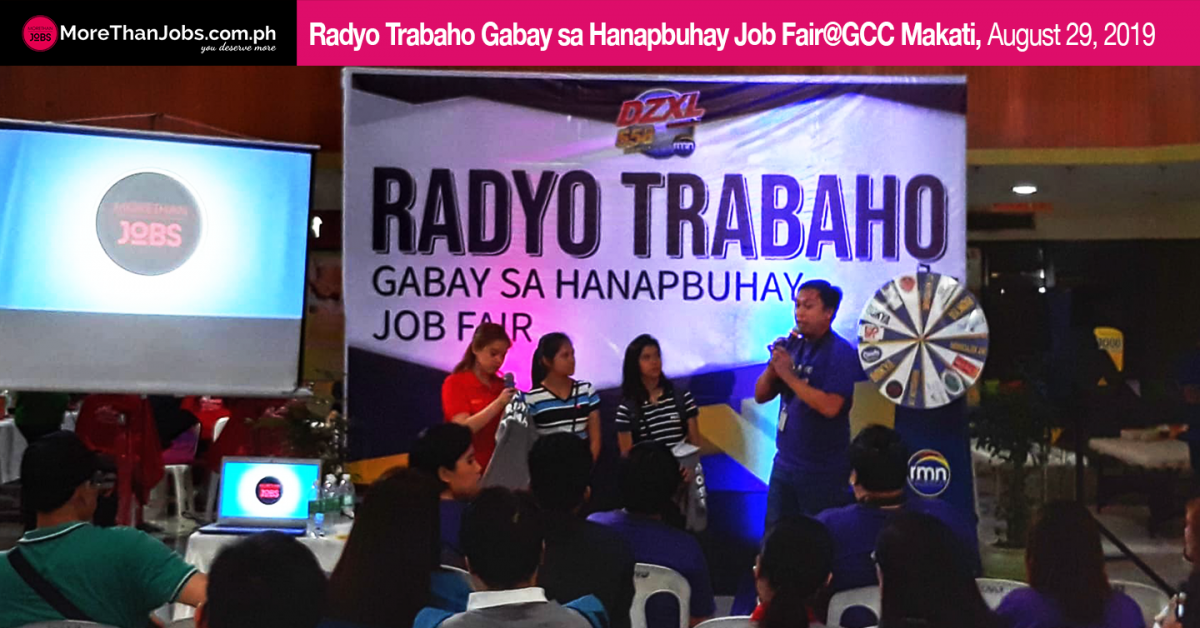 45 Job Seekers Find Jobs Through Gabay sa Hanapbuhay Job Fair