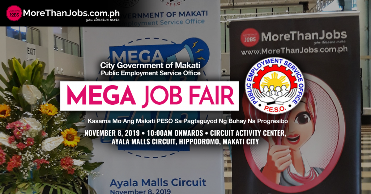 Makati PESO and MoreThanJobs.com.ph Bring Mega Job Fair to Ayala Malls Circuit