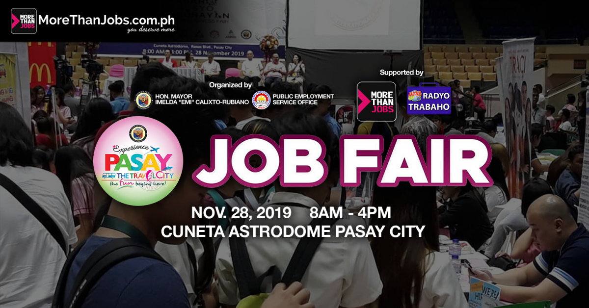 Trabaho, Negosyo, Kabuhayan (TNK) Job Fair in Pasay City a Huge Success