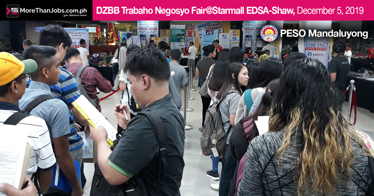 Trabaho Negosyo Job Fair Bring Brand New Opportunities