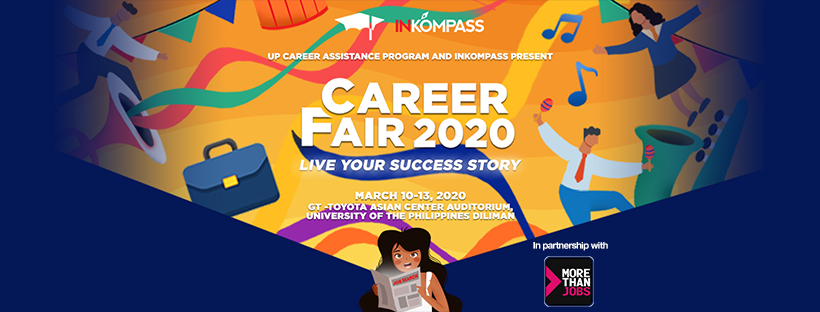 Live Your Success Story with UP Career Assistance Program's Career Fair 2020